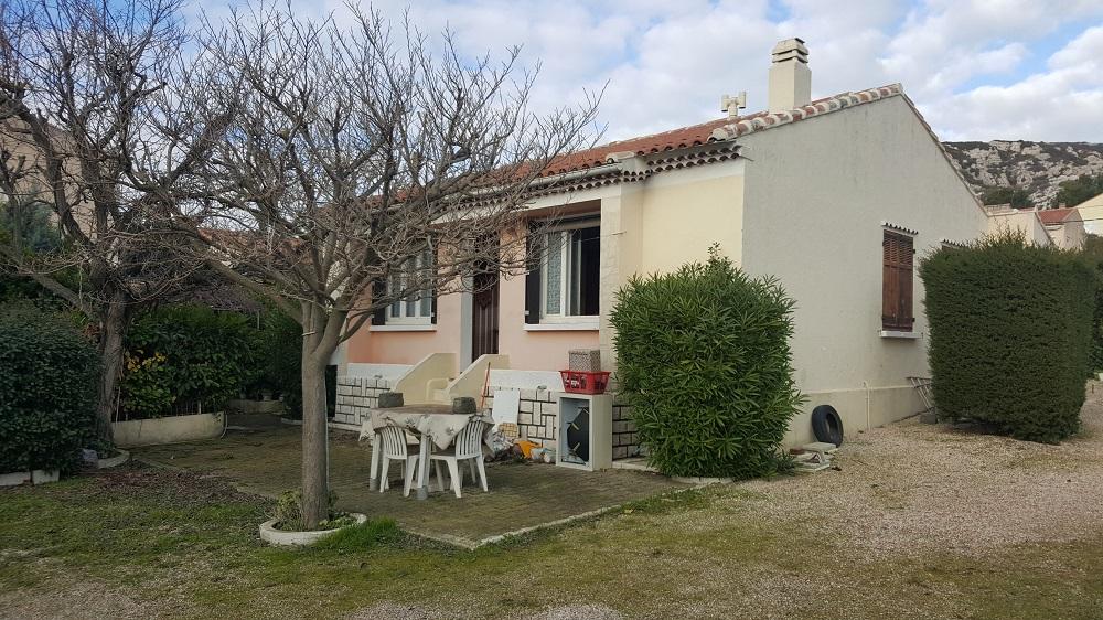 Vente maison individuelle t4 le rove for Garage henri marseille
