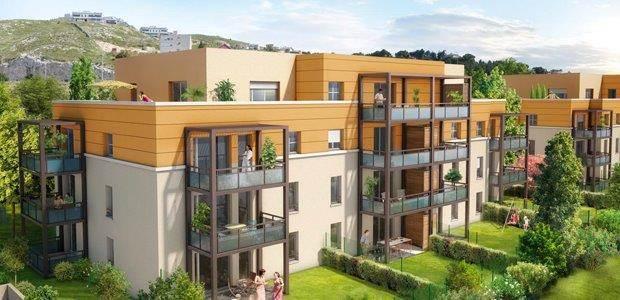 Marseille acheter appartement neuf t4 marseille 16 eme for Appartement neuf vente
