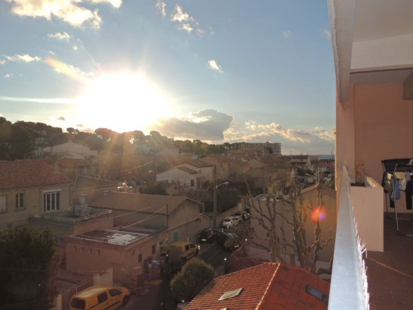 Vente appartement T3 Carry le Rouet Terrasse, Logia et Parking privatif