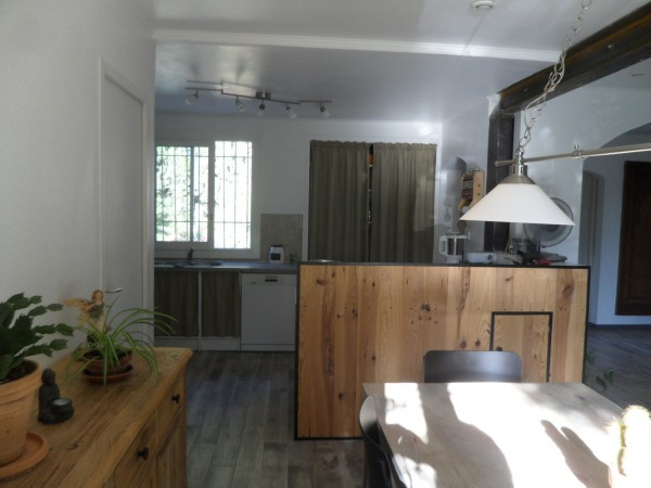 Vente maison T5 Martigues Jonquières  Endroit calme, piscine, grand terrain