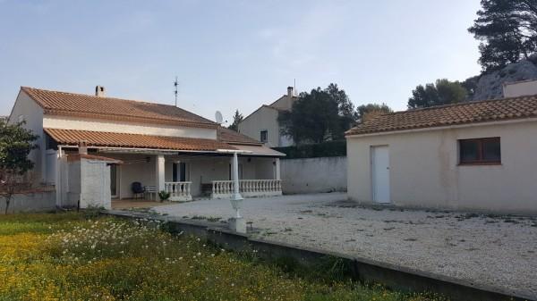 Vente villa de 180m² sur 1500m² de terrain T6 LE ROVE possibilité construction supplémentaire