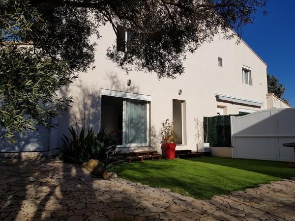 Vente Maison mitoyenne avec garage T3 13740