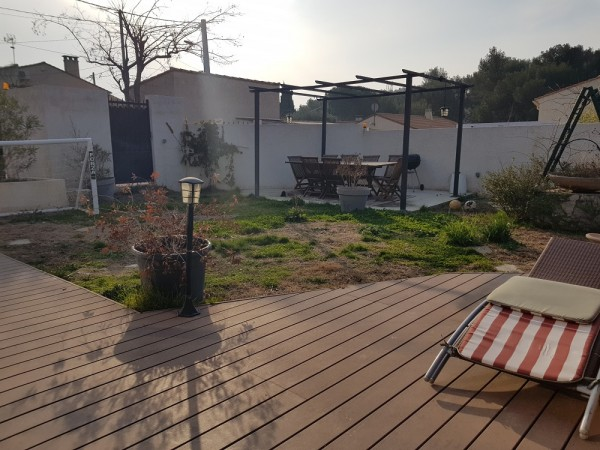Acheter maison t3 avec v randa terrasse et jardin aux jolies prestations t3 f3 13740 cabinet - Agence immobiliere terrasse et jardin ...