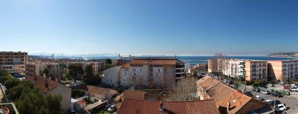 Vente appartement de type 4 avec balcons et vue mer panoramique T4 ESTAQUE