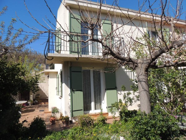 villa T4 Marseille 13016 Hauteurs de l'Estaque Jardin. Magnifique vue Mer. 2 garages.