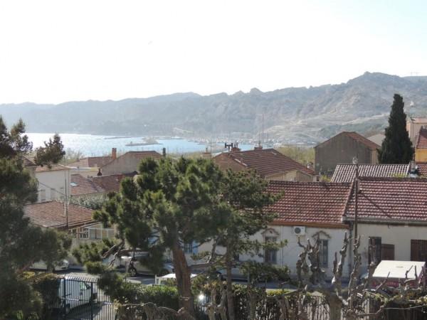 Appartement T5 Estaque Terrasse parking et belle vue mer