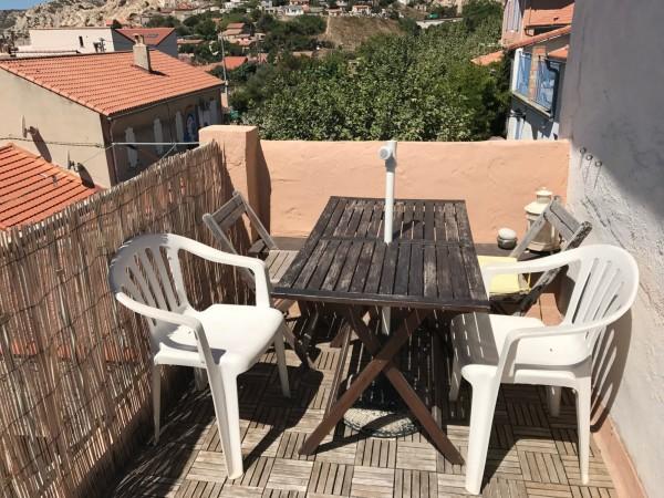 maison de village T3/4 Marseille (13016) Quartier de l'Estaque Vue Mer. Cave. Proximité commodités